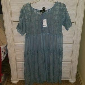 NWT Lace Babydoll Dress